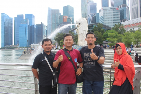 Al Abidin goes to Singapore and Malaysia
